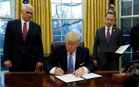 Donald Trump Removes United States From Trans – Pacific Partnership