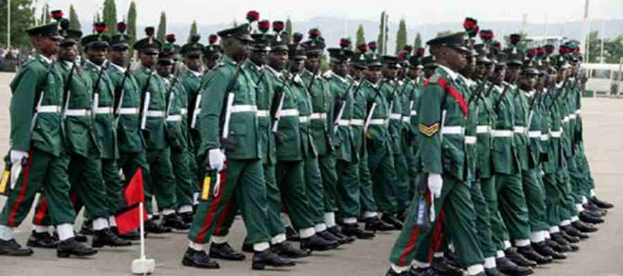 Army Caution Nigerians On Fraudsters, Says Application Form Into Army Is Free