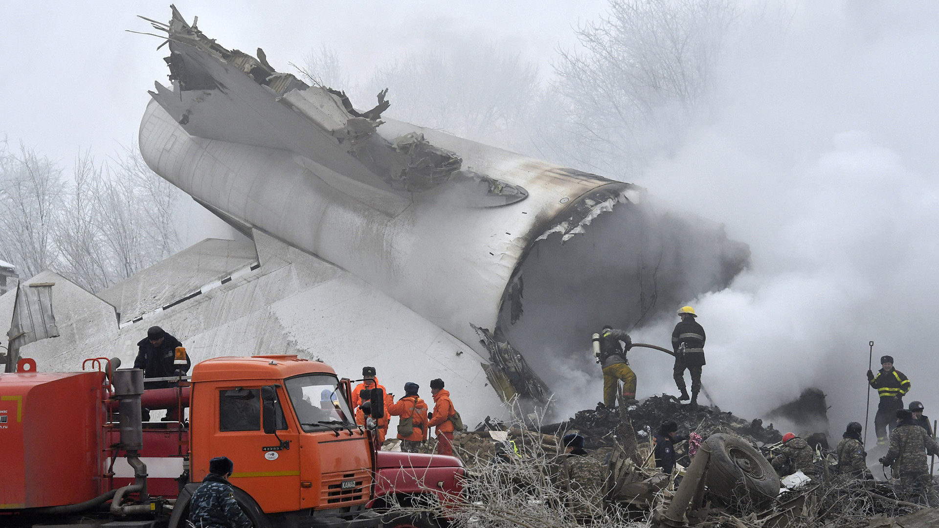 At Least 37 People Killed In Turkish Cargo Plane Crash