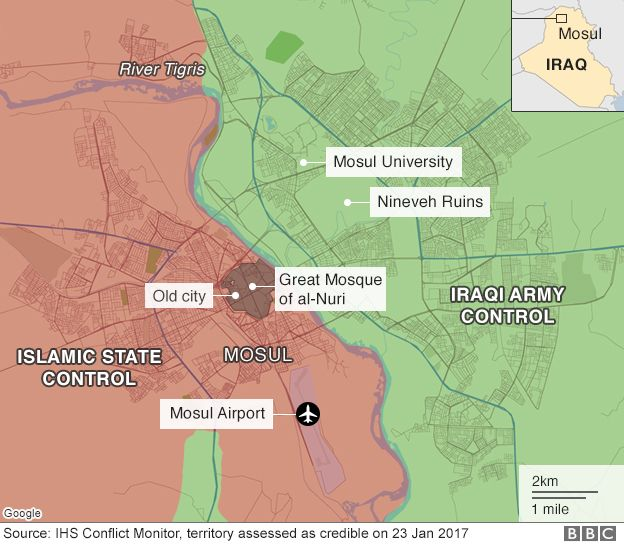Mosul Assault: Iraq Troops Make Headway Against IS — BBC