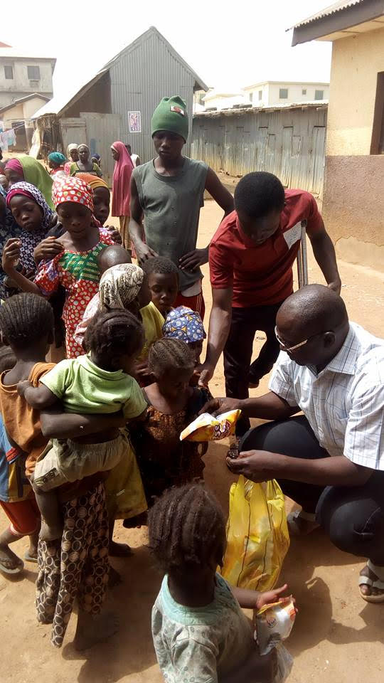 Nigerian Cleric Celebrates Valentine's Day With Physically Challenged, Less Privileged