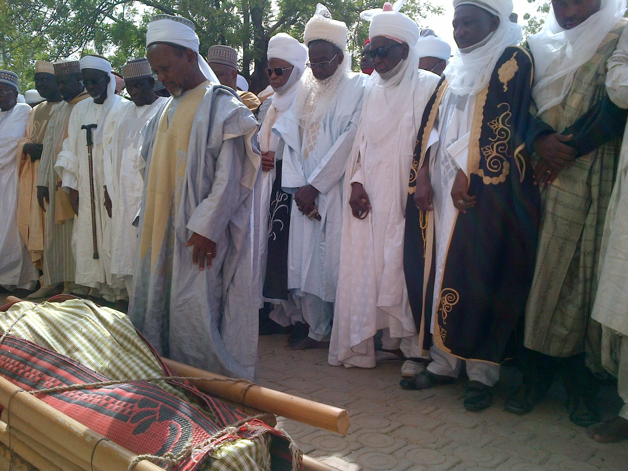 Remains Of Late Former Governor Of Old Kaduna State, Lawal Kaita Laid To Rest In Katsina