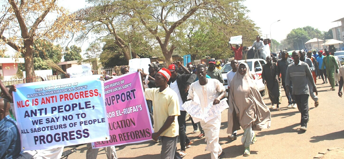 Nigeria: Youth In Kaduna Hold Rally In Support Of Gov. El-Rufai [Photo]
