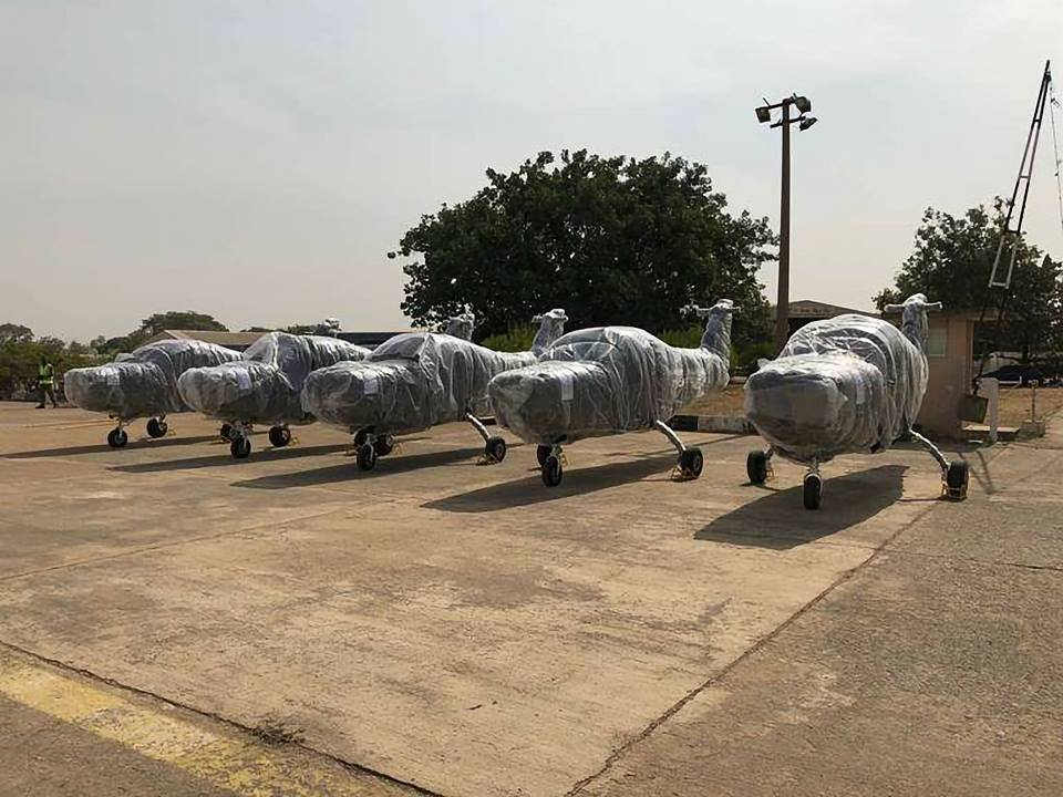 Nigerian Air Force Takes Delivery Of Super Mushshak Aircraft To Enhance Operations