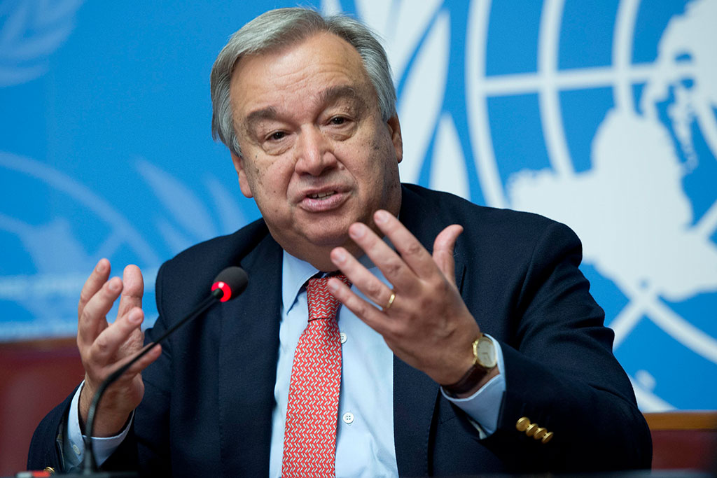 Climate Chaos To Continue In 2018, UN Chief Warns