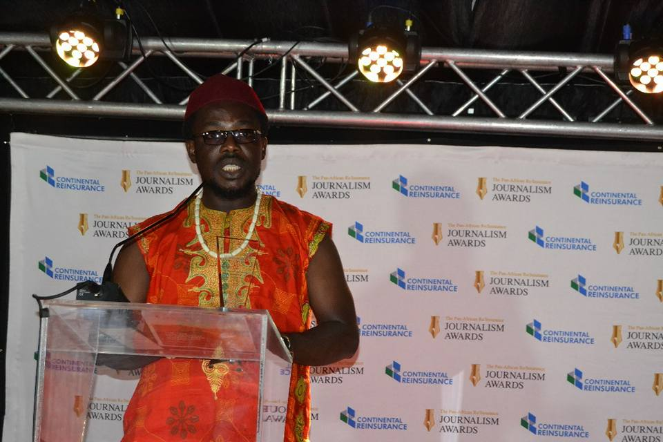 AFRICA PRIME NEWS Journalist Bags Pan African Journalist Of The Year Award