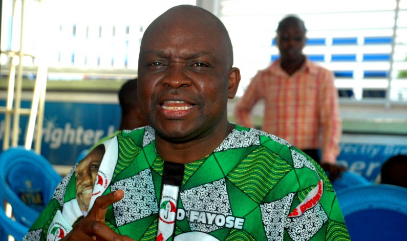 Gov. Fayose, South West Nigeria Approves Payment Of Promotion Arrears To 37,000 Workers