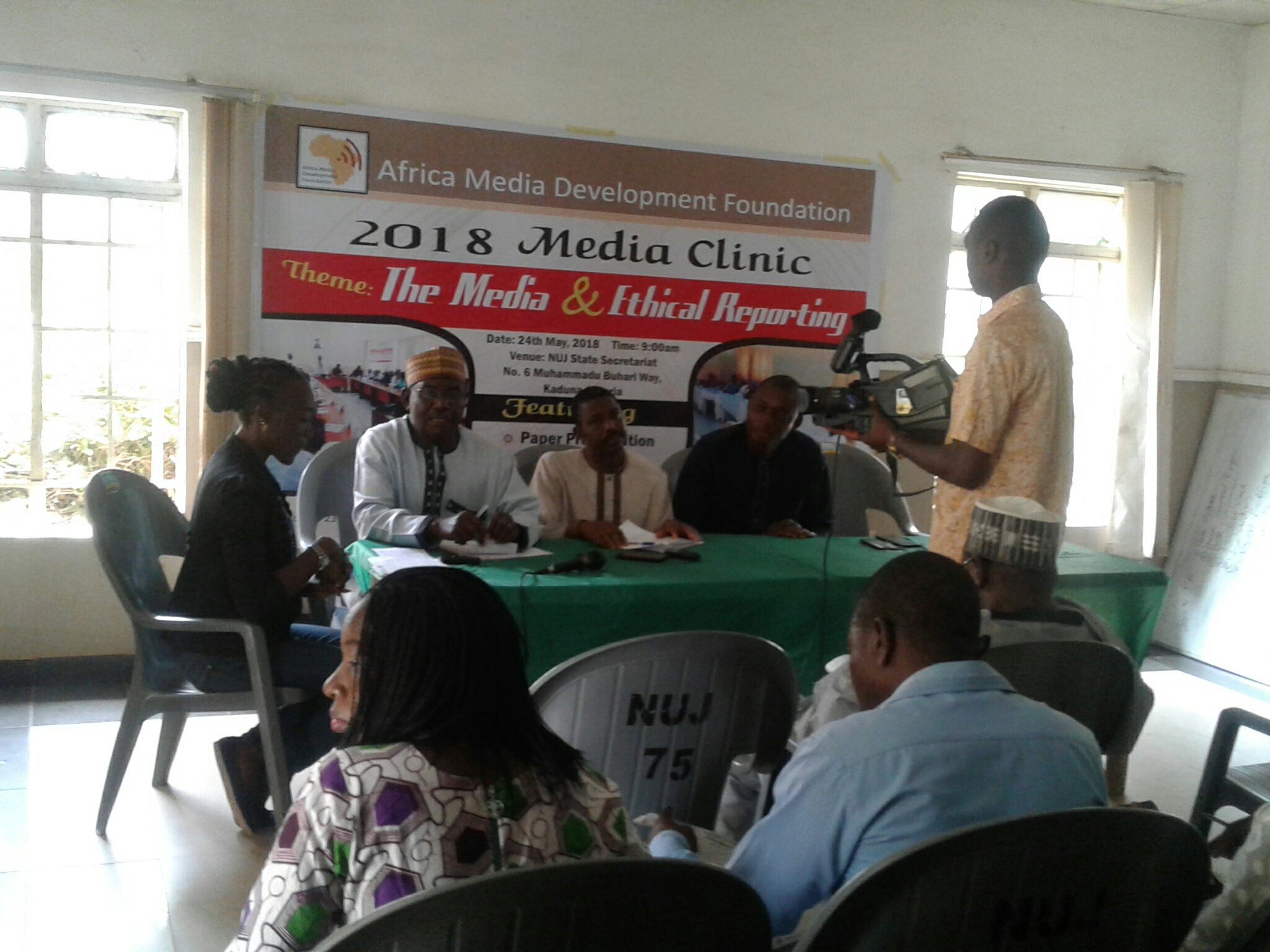 2018 AMDF Media Clinic: Journalists Charged To Ensure Strict Adherence To Ethics Of Profession
