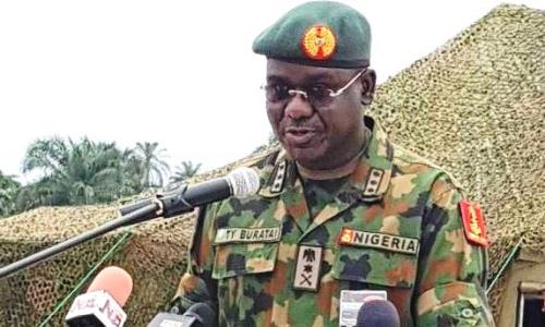 Insurgency : Buratai Seeks For Improved Funding Arm
