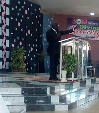 I'm Not Coming Into Office Of General Overseer Aimlessly – Rev. Usman Declares