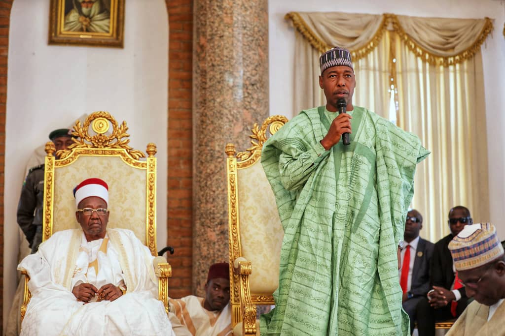 Buhari's Visit To Borno Strengthens Our Hope — Says Zulum