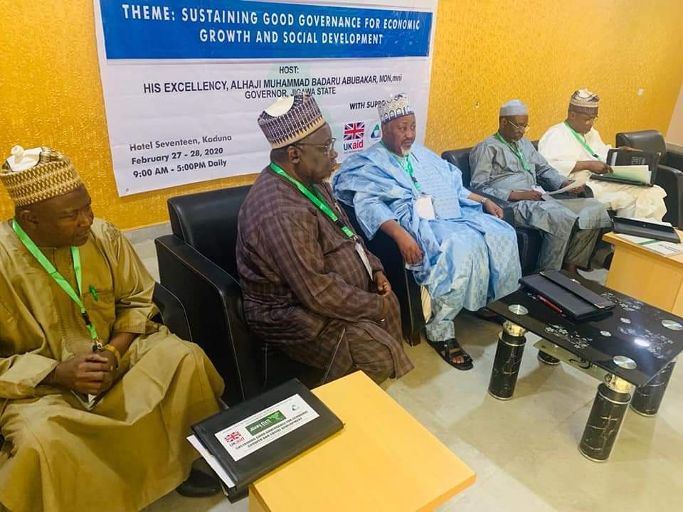 Jigawa Organises Retreat for Cabinet Members , Other Top Govt. Officials In Kaduna