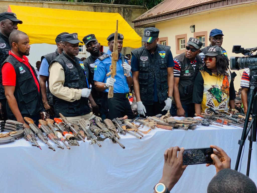 Criminality: Nigeria Police Arrest 105 Kidnappers ,Armed Robbers