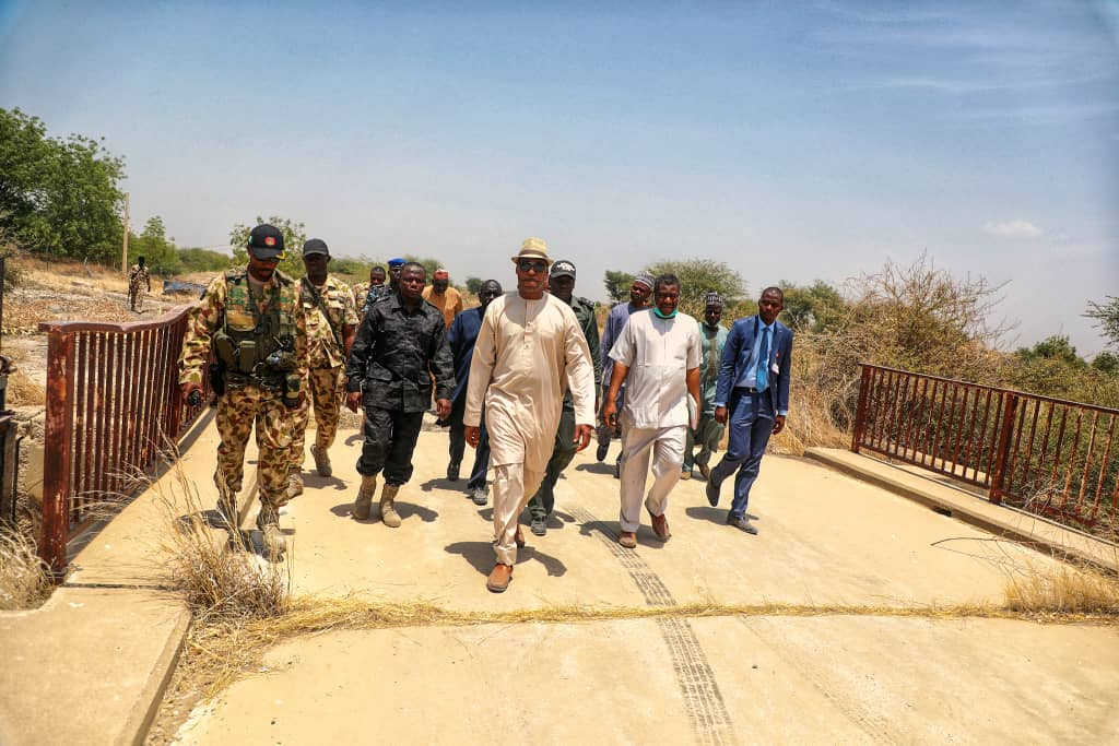 Nigeria: Zulum Visits New Marte, Wants Massive Irrigation Farming Revived