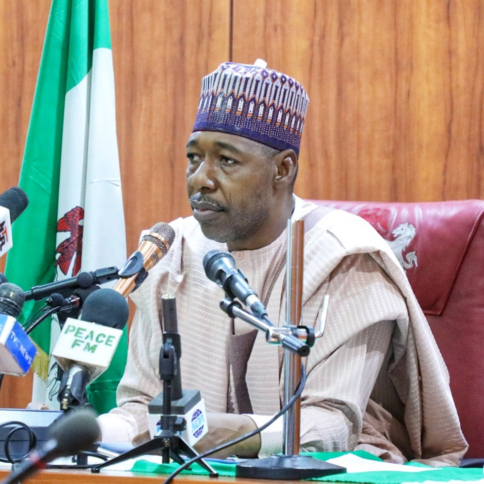 Borno: Zulum Directs Enrollment of 552 Retired Workers into Pension Payments