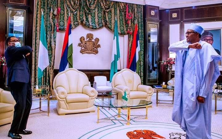 President Buhari To AfDB President Adesina: I 'll Stand By You