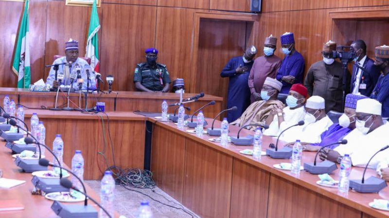 Boko Haram killings: Senate Delegation Visits Zulum in Borno