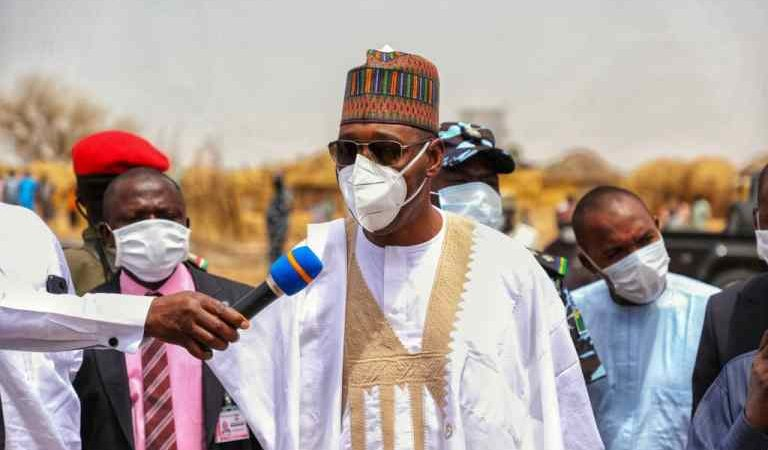 Zulum Visits Remote Kala-Balge; 10,000 Households Get Food Items