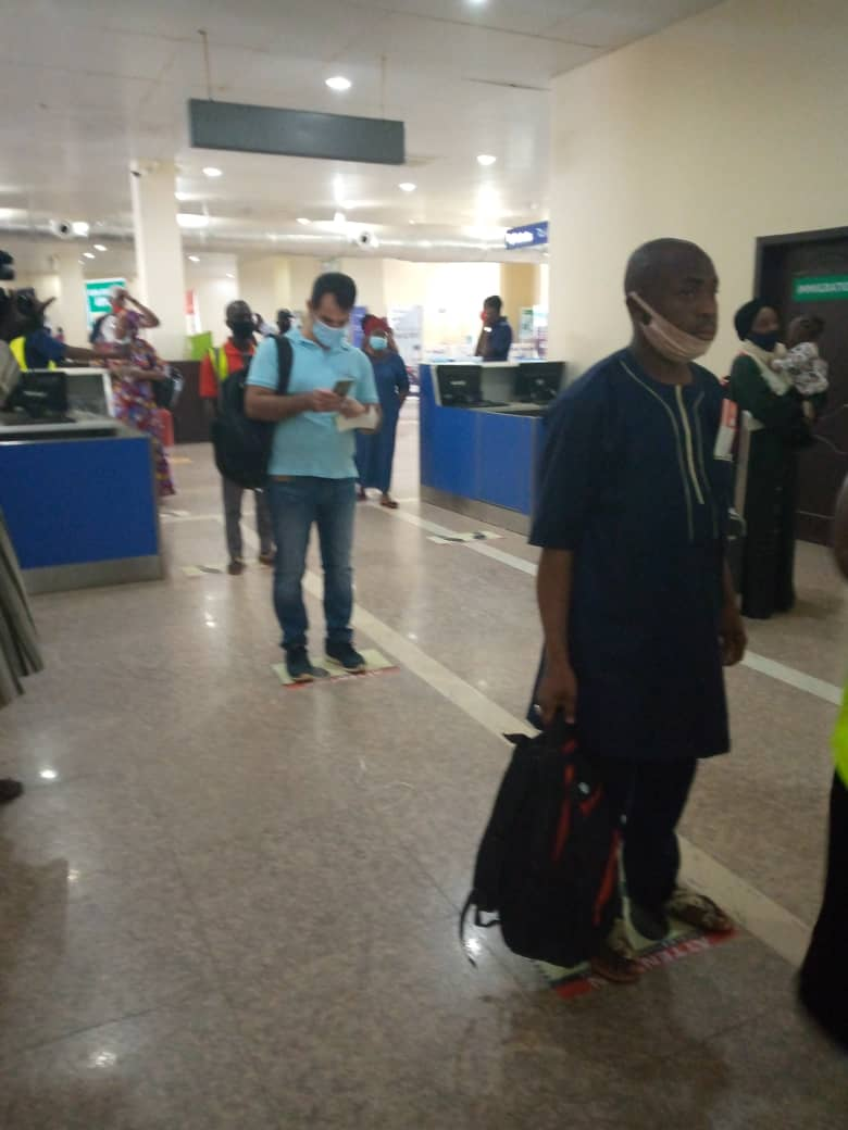 Covid-19 Protocol: NLC Scores Kaduna International Airport 100%