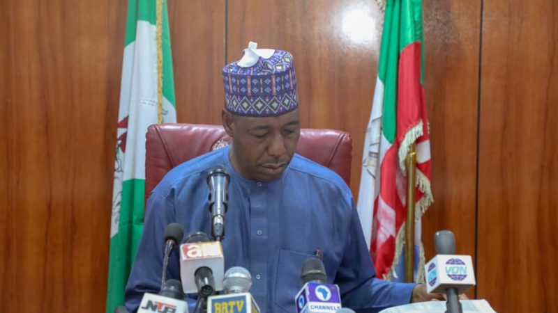 Health Care; Zulum approves recruitment of 594 doctors, nurses, others