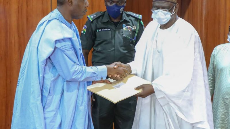 Condolence: Zulum receives presidential delegation over passage of Emirs of Bama, Biu