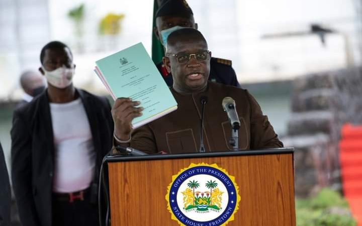 Sierra Leone to recover looted Public fund, assets from former leaders – says Bio