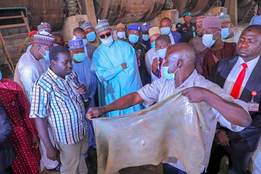 Zulum visits Borno industrial hub, orders factories to step up production
