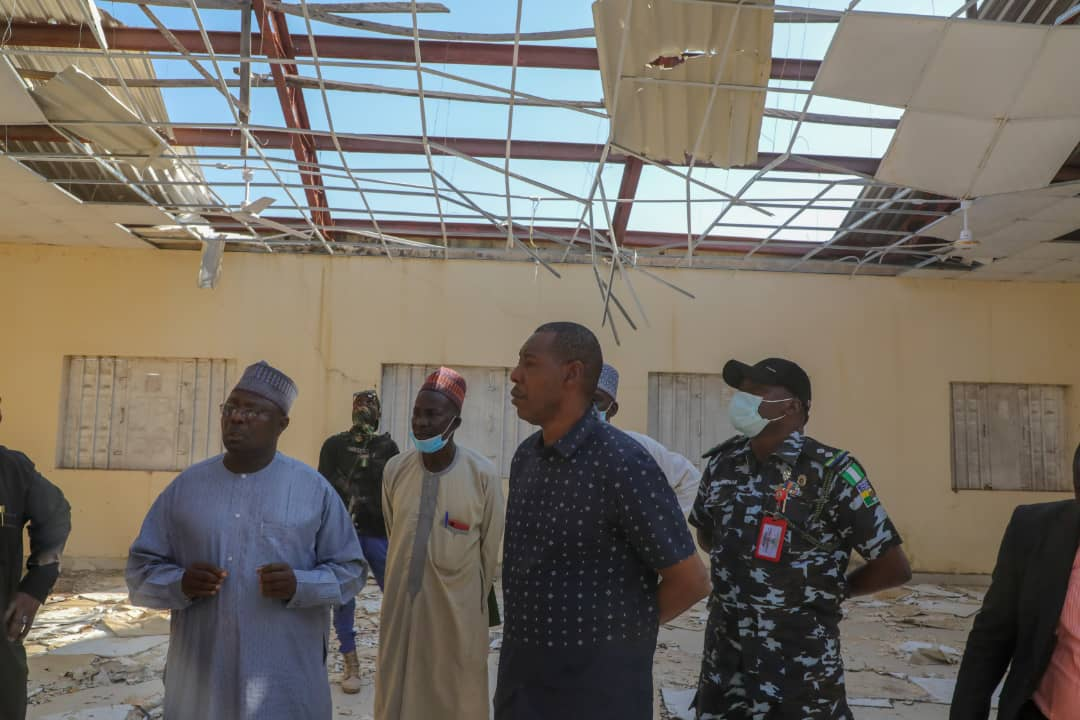 Chibok: 5 years after Okonjo-Iweala laid foundation stone, Zulum orders rehabilitation of school where girls were abducted