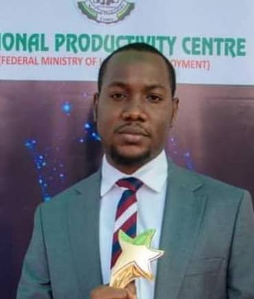 NAT'L PRODUCTIVITY AWARD: DR AMINU ALIYU: THE EMERGENCE OF A PHENOM