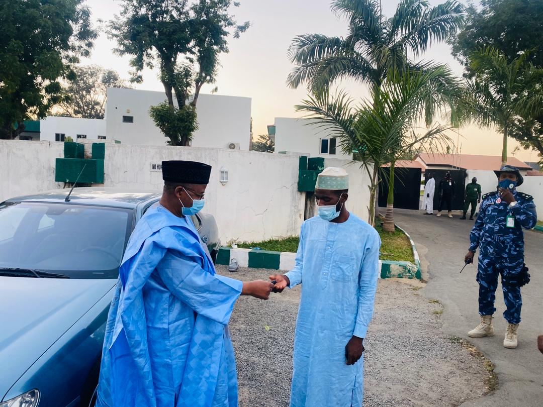 Solidarity: Man Treks From Sokoto- Bauchi to Show Support for Gov's projects Execution
