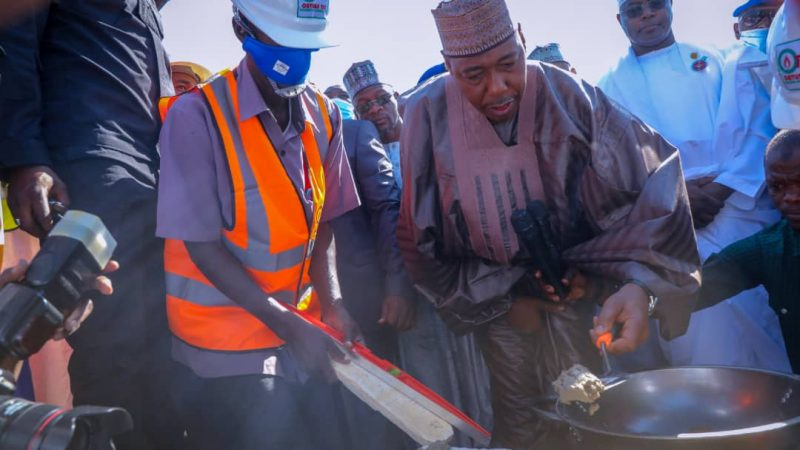 Zulum lays foundation stone for Borno's first private University …Approves land allocation