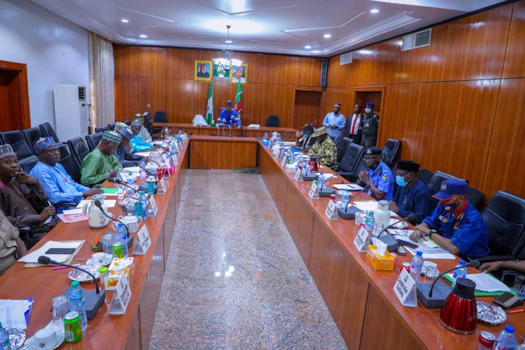 2021: Zulum chairs Borno's first security meeting …Worries about abductions