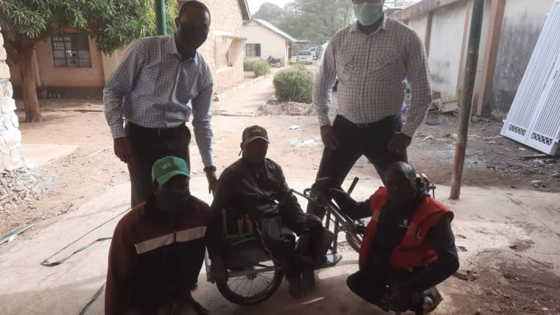 Relief: How NB Plc Staff Brings Succour to a Cripple  22 years After …Provides wheel chair